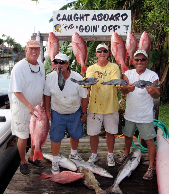 Caught aboard the Goin Off fishing near Cocoa Beach out of Port Canaveral